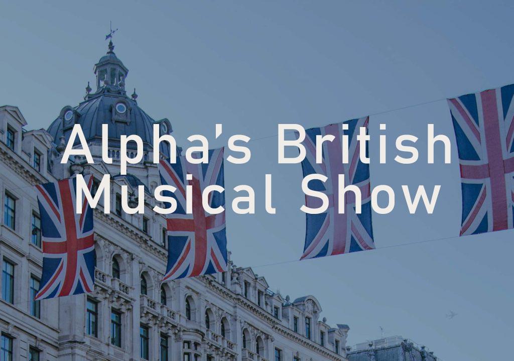 Evenement Alpha High End British musical show